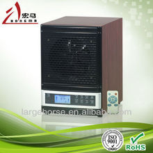 UV Lamp Germicidal LCD Display Dust Collector Air Purifier with HEPA Filter, Ceramic Plate