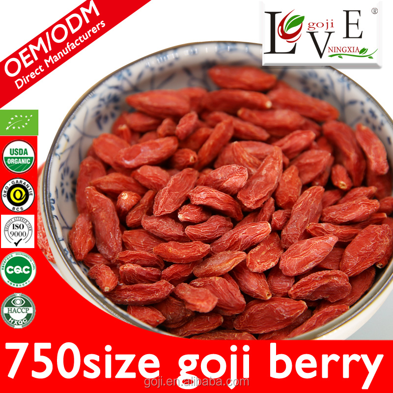 Professional farms and factory sales 100%pure goji berry