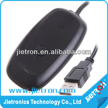 Black PC Wireless Controller Gaming USB Receiver Adapter For xbox 360 controller