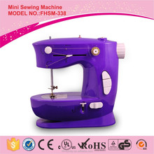 FHSM-338 Double stitch single needle mini domestic table top electric sewing machine