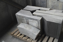 High temperature 1800c refractory sic bonded si3n4 bricks for blast furnace