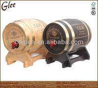 Solid Wood Wine Barrel Beer Keg