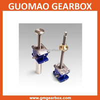 High quantity gear screw jack with flange