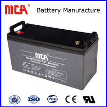 agm deep cycle battery 12v 120ah lead acid emergency battery
