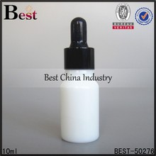 10ml white glass indian perfume oil bottle with aluminum cap and pipette glass, 10ml glass bottles with cap, oil bottle in dubai