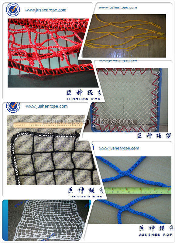 Colorful twine rope netting fence, garden netting nylon, net&rope