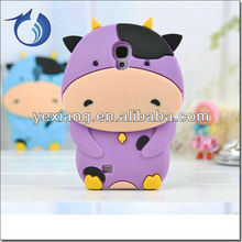 Wholesale Lovely Animal Phone Case Cute Galaxy S4 For Samsung Purple