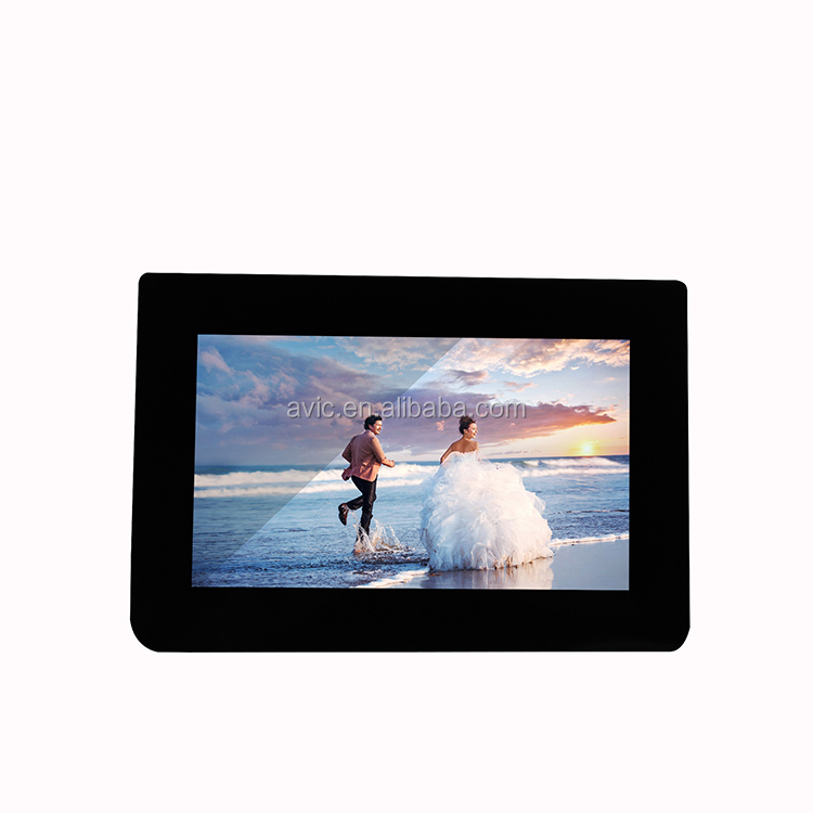 8 inch wifi cloud digital photo frame with Hi-res display