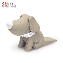 Created decorative door draft stopper sliding magnetic plush dog door stopper