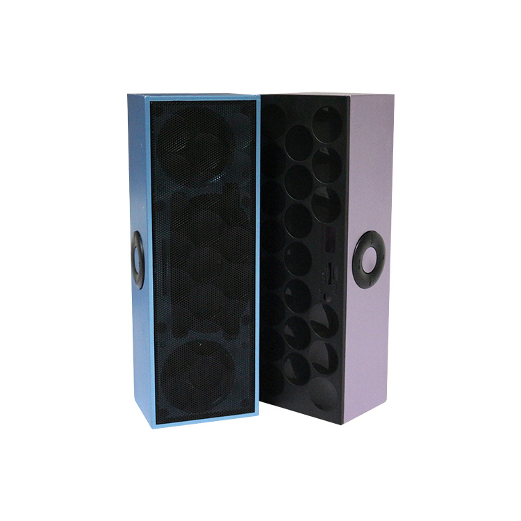 ShenZhen electronic mp3 players portable soundbox unique design cube bluetooth speaker