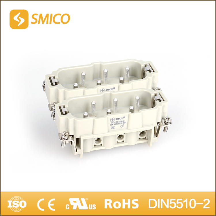 SMICO Promotional Items China Gold / Silver Plated 12Pin Automotive Connector