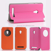 Hot 2014 PU Leather Cute Mobile Phone Case For ASUS Zenfone 5