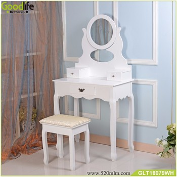 Fashionable wooden makeup table mirror from shenzhen