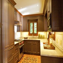 China Prefab Home Customized American Kitchen Cabinets