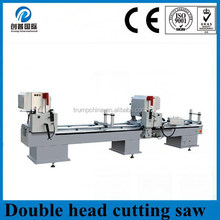 double head cutting machine/aluminum cutting machine for 45 degree india