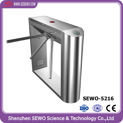 Smart Card Gates Security Indoor Entrance Dual Turnstile Gate