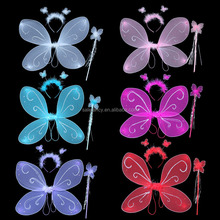 wholesale fairy wings colorful butterfly wings costume adult fairy wings QFW-1006