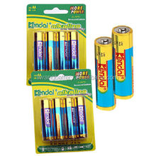 super power 4PCS Blister LR6 AA ALKALINE BATTERY 1.5V