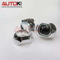 Autoki Square Lens Koito Bi-xenon Projector Lens Q5 projector for D1S D2S D3S D4S xenon lamp