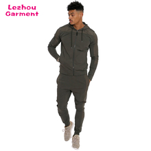 Hot product tracksuit material, gym china wholesale tracksuit men