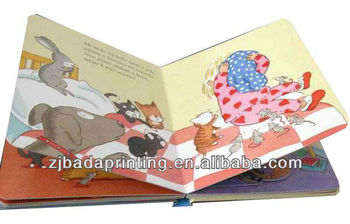 Elegant Children Cardboard Book