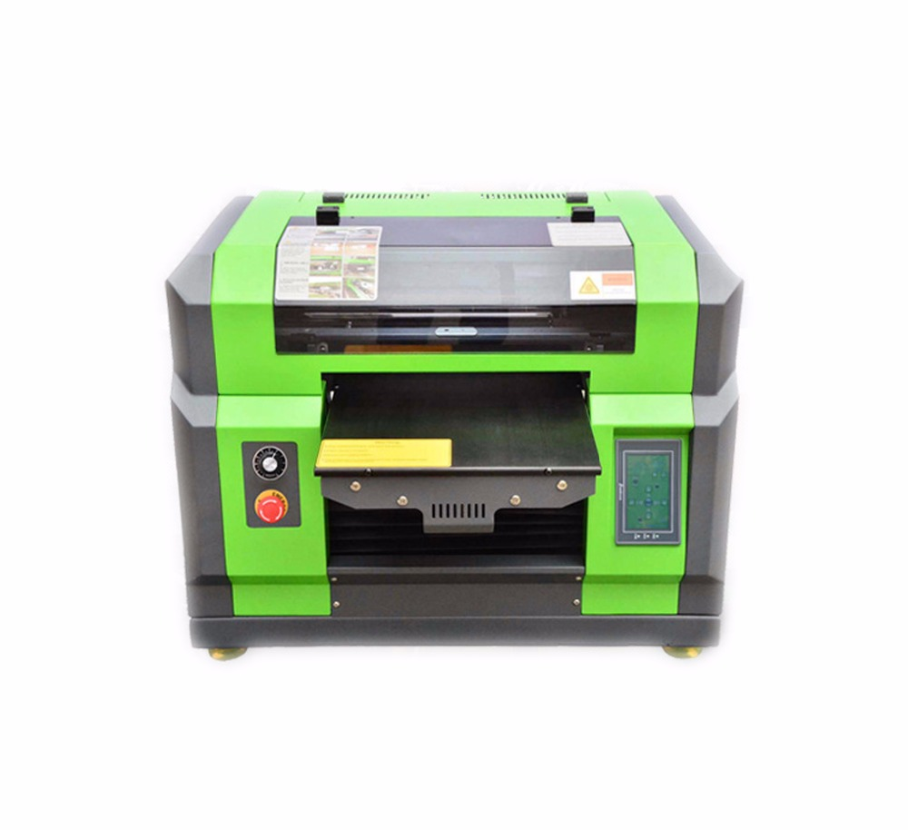 cheap price uv flatbed printer phone case clothe printing machine