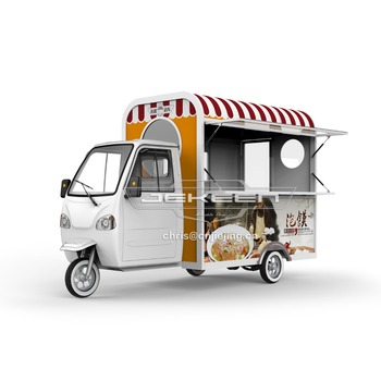 JEKEEN dinning car Ice Cream Truck mobile shops of Little Bee(3.8m)