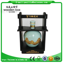 Wooden liquor box made of Chinese traditional craft
