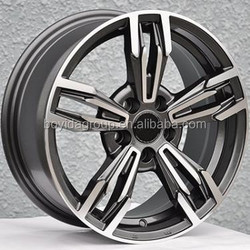 Chrome Five Spokes Car Alloy Wheel Rims With Model F868104
