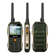 Original 2.4 Inch Dual Sim Card GRSED YAX8800 with UHF Walkie Talkie Power Bank Function 8800mAh Rugged Big Battery Mobile Phone