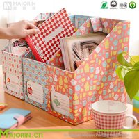 Colorful Kraft Paper Storage Box For