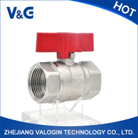 Gas Reasonable Price Galvanized Ball Valve
