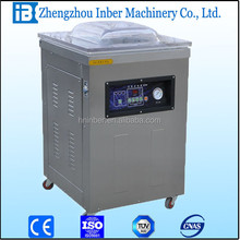 Nitrogen Filling Sealing machine, vacuum machine for pavkaging sausage seafood dryed
