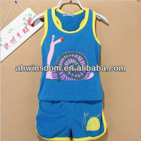 CHEAP SUMMER KOREAN CHILDRENS SETS T