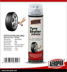 Aeropak Portable quick Tire sealant and inflator