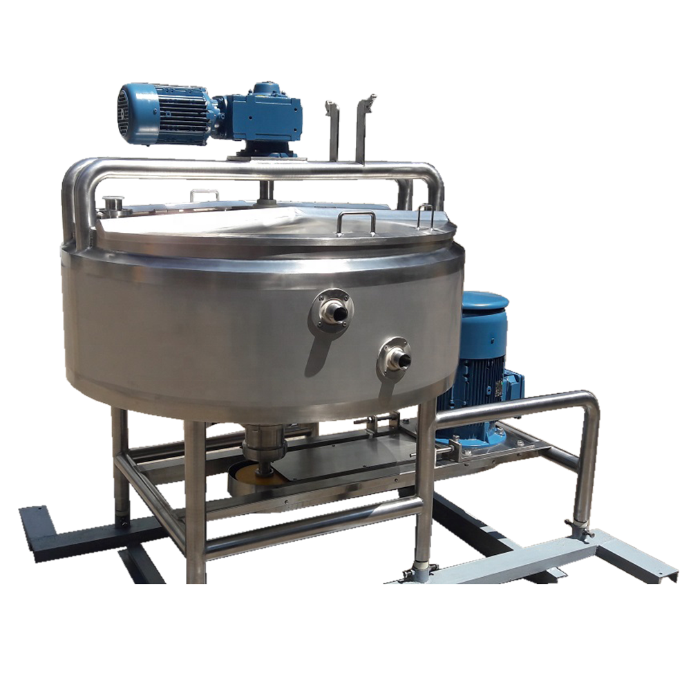 ASME 100 gallon tomato paste /cosmetic machine equipment high speed emulsification machine