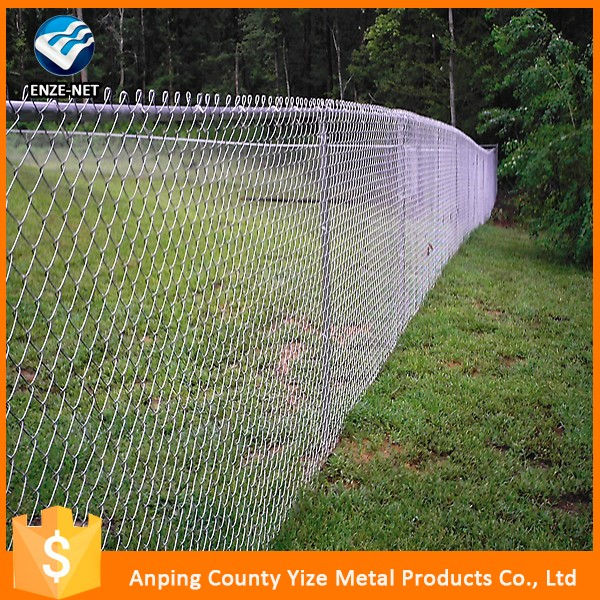 High Quality chain link fence post diameter (skype:yizemetal1 )