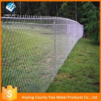 High Quality chain link fence post diameter (skype:yizemetal3 )