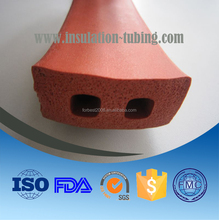 Close Celled Extreme Temperature Silicone Sponge Foam Rubber Pipe Insulation China Supplier