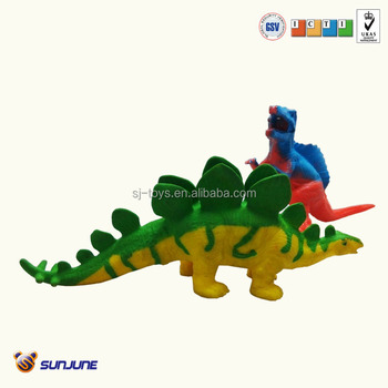 2014 novel tpr squeezable soft dinasour toys for kids