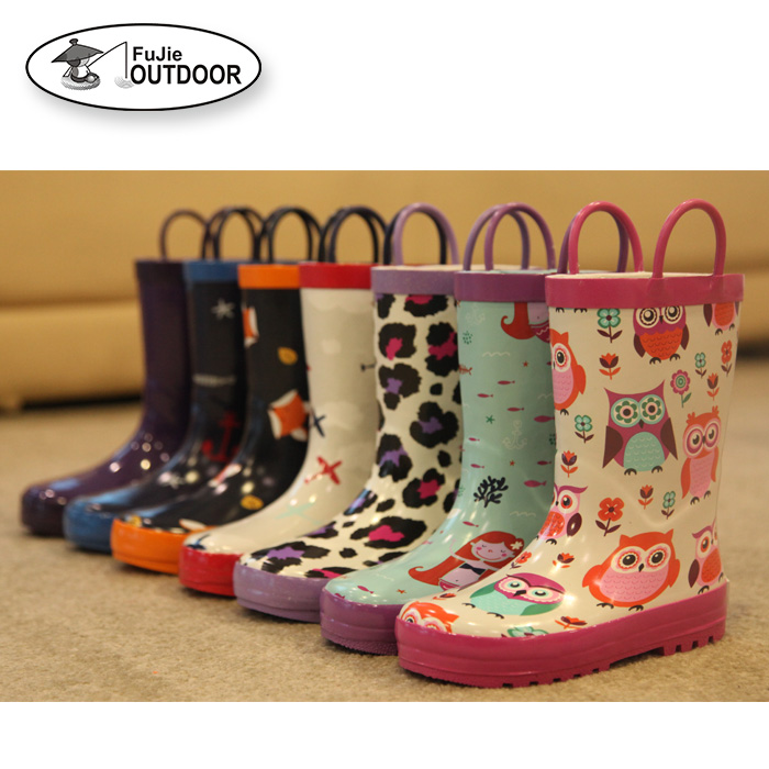 Cute Rubber Rain Boots