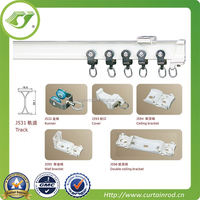 2014 new sliding curtain wheel and rail