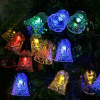 Multi Color Super Bright Decorative Waterproof String Lights Solar LED Christmas Lights Net