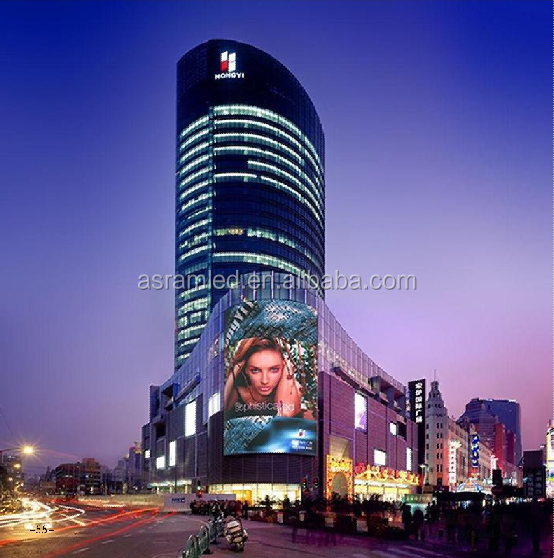 Outdoor Grid / Mesh LED Display Usage and Full Color LED Display Tube Chip Color grid LED display