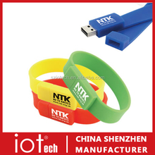 Cheap Waterproof Wristband USB Memory Stick
