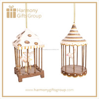 Garden Design Bird Cage Ornament