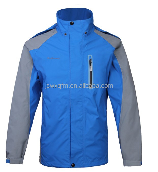 Hiking jacket custom ski jacket outdoor rain jacket