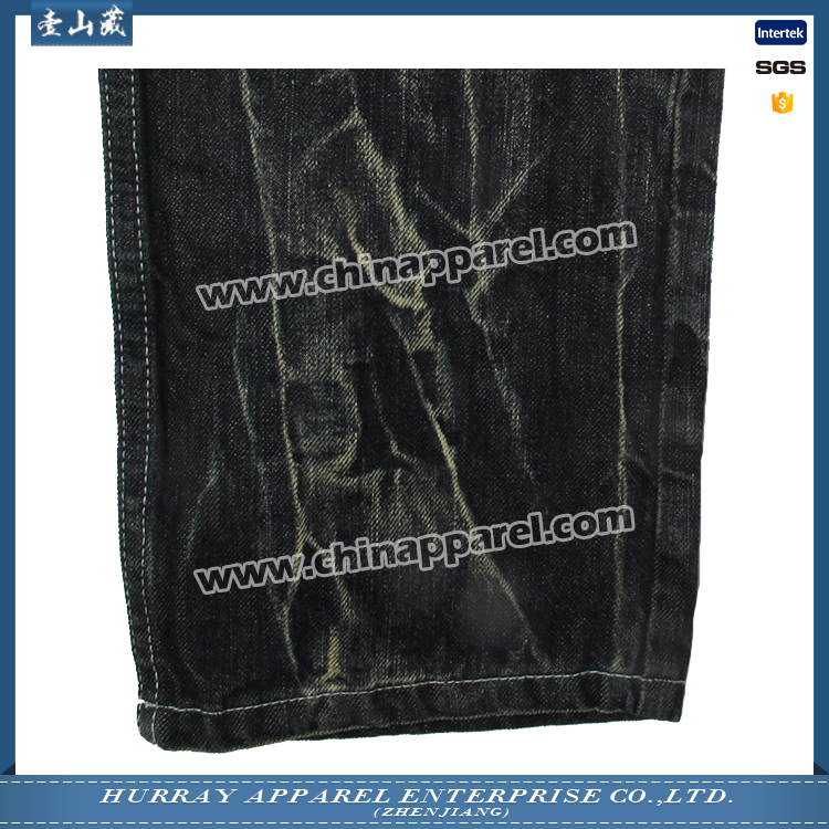 Hot sale factory direct price mens overdyed jeans From China supplier