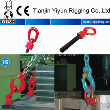 2017 new stype eye swivel hoist ring for lifting