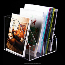 Custom flyer display stand, clear acrylic leaflet holder